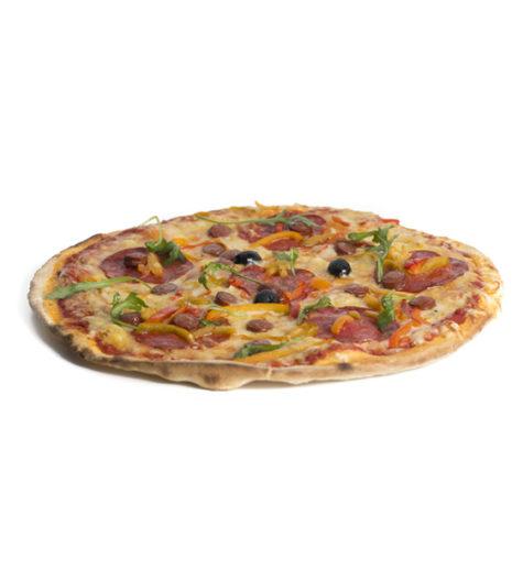 La pizza orientale du Jack's express de Castres dans le Tarn.