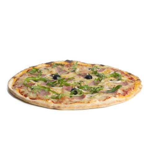 La pizza reine alsacienne du Jack's express de Castres dans le Tarn.