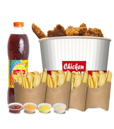 Menu chicken box x 20