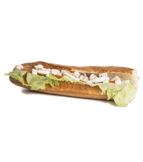 Sandwich complet poulet