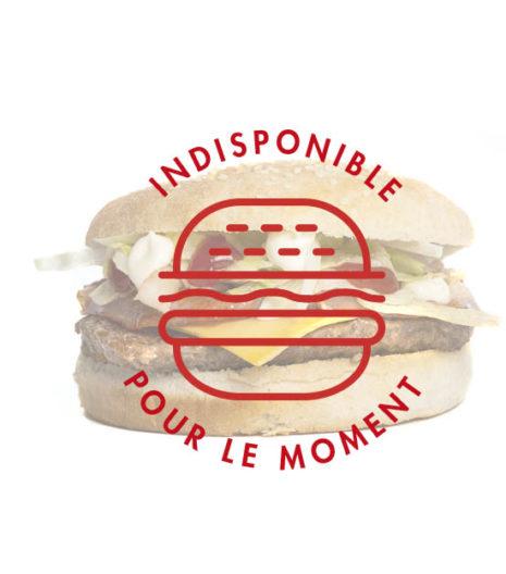 Americano Burger du Jack's express de Castres.