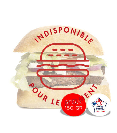 Authenthique burger du Jack's express de Castres.