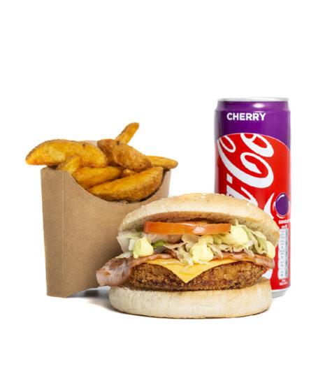 Menu Bolly burger du Jack's express de Castres.