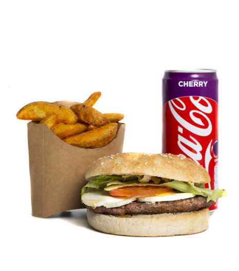 Menu Buzz Burger du Jack's express de Castres.