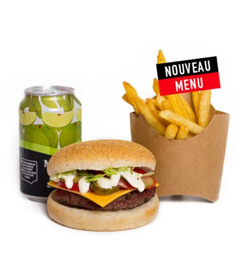 Menu Burger pepper Jack's Express Castres