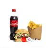 Menu XL Authentique Burger Jack's du Jack's express de Castres.
