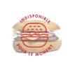 Burger French bagel du Jack's express de Castres.