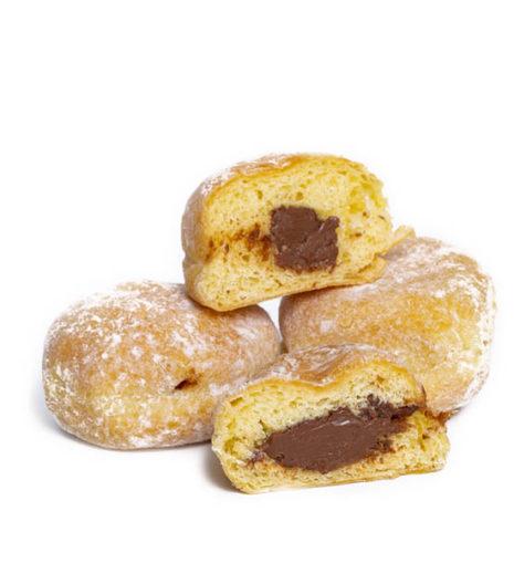 Mini beignets au Nutella