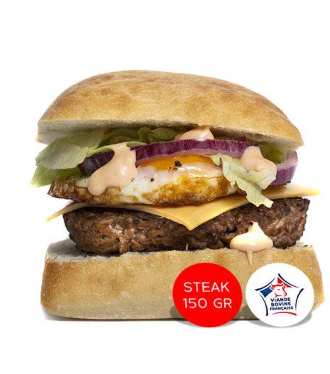 N'oeuf burger