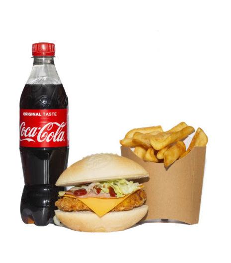Menu xl XV burger Jack's Express de Castres.