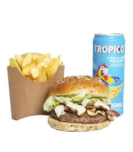 Menu Burger forestier jack's Express Castres